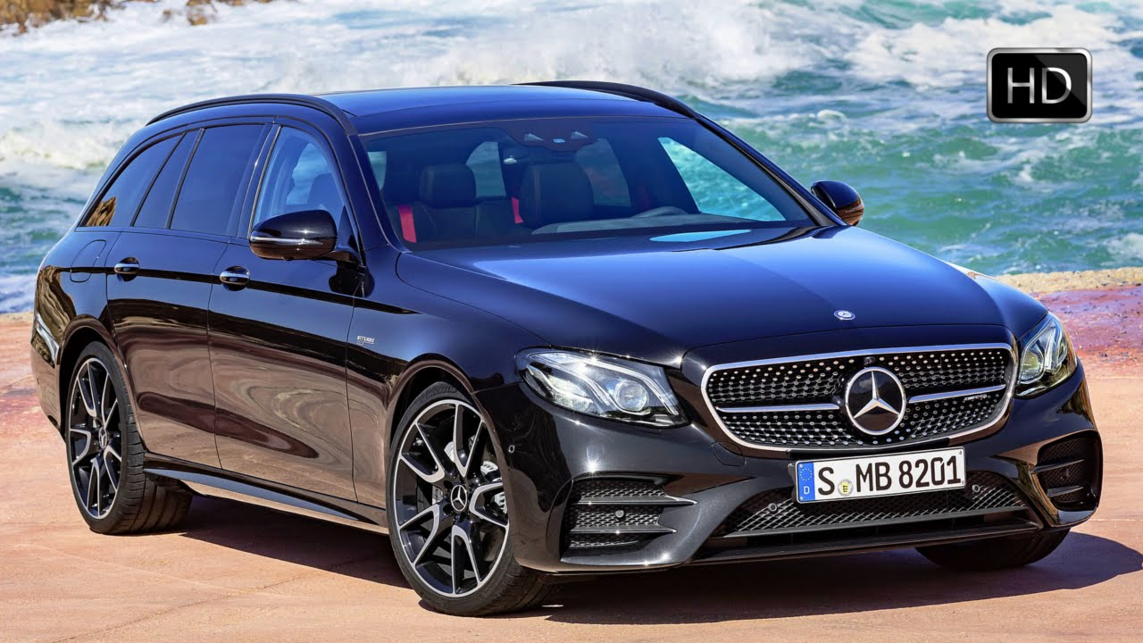 2017 Mercedes-AMG E43 4Matic Estate 4MATIC Exterior & Interior ...