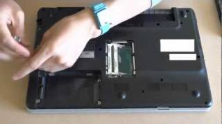 How to take apart Sony Vaio VGN-NW25GF/P and reapply CPU thermal paste