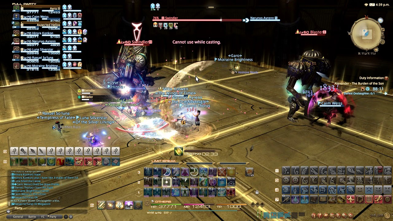 ffxiv how to play with friends