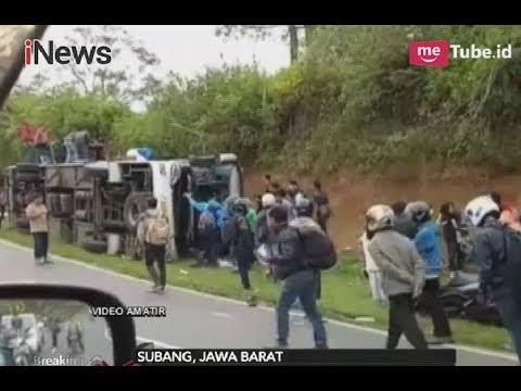 Video Amatir, Kecelakaan Maut Tanjakan Emen Tewaskan 14 Orang di Subang - Breaking News 10/02