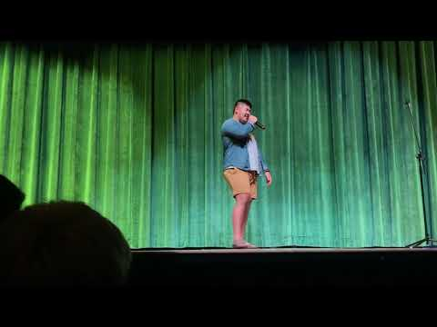 my first stand up comedy set (sickles high school coffee house)