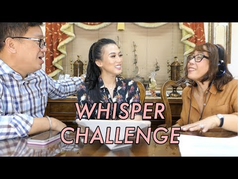 Whisper Challenge By Alex Gonzaga