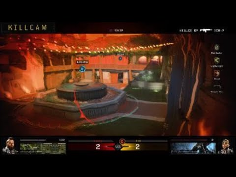 What the eye by the Map Mean BO4