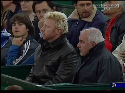 Hamburg 2004 R1 - Federer vs Gaudio (Part 3)