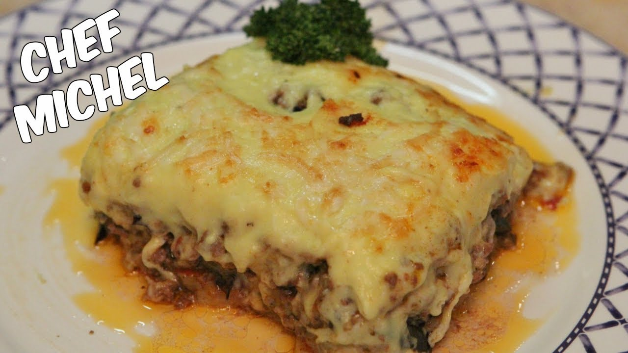 how to make moussaka video