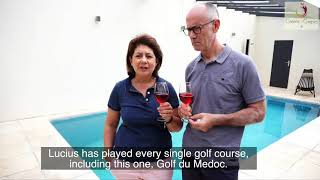 Gambar cover Greens&Grapes : Golf, wine, gastronomy in Bordeaux