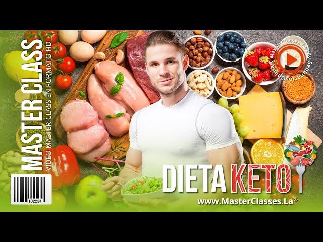 Dieta Keto -  Pierde peso de forma saludable, rápida y sin pasar hambre.