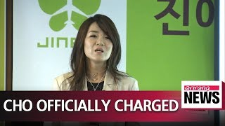 Police charge Korean Air executive Cho Hyun-min over 'bottle rage' incident