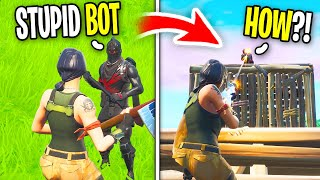 This Guy was TOXIC to me in Fortnite, So I 1v1d him... (Playground Fills)