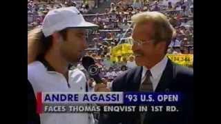 Agassi vs McEnroe Arthur Ashe Tennis Challenge 1993