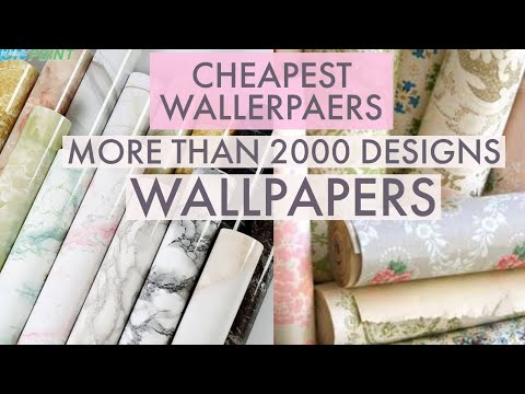 CHEAPEST WALLPAPERS | ALL INDIA DELIVERY | 4000 DESIGNS
