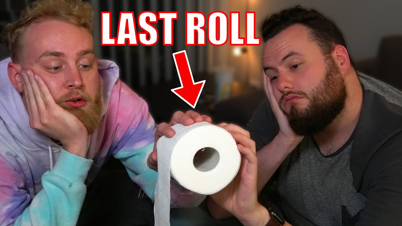 Last To Take Hand Off Toilet Paper Keeps It!