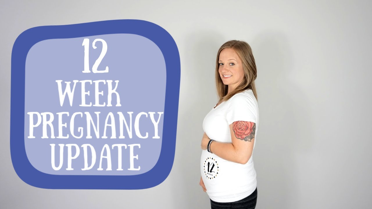 12 Weeks Pregnant Baby Bump Youtube