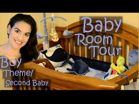 Baby Room Tour! Boy/Nautical Theme