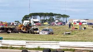 "RACE 16 BRISCA F2 FINAL ""RACE STOPED ACCIDENT"""