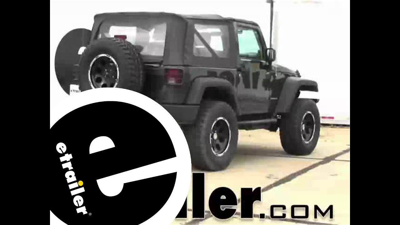 installation of a trailer wiring harness on a 2007 jeep wrangler installation of a trailer wiring harness on a 2007 jeep wrangler etrailer com