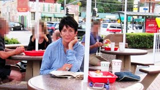 Pic of Ghislaine Maxwell at In-N-Out Burger May Be Fake