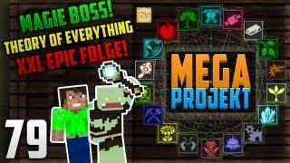 MEGA XXL - EPIC MAGIE + QUANTUM HOSE + THEORIE OF EVERYTHING ! - Minecraft MEGA PROJEKT #79