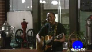 "(Clip 3) Abel Musuka @ We Tell Stories Poetry Night singing ""The Overcomers"""