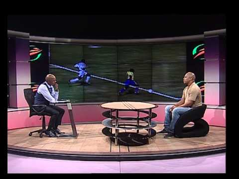 Thomas Mlambo interviews former footballer Lovers Mohlala