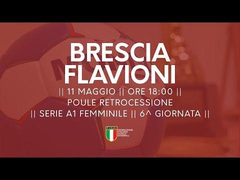 Serie A1F [6^ Poule Retrocessione]: Brescia - Flavioni 26-17
