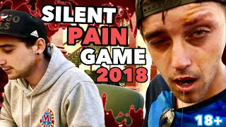 SILENT PAIN GAME 2018 *WAXED HIS EYEBROW OFF*