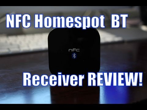 NFC Homespot Bluetooth Receiver Review!