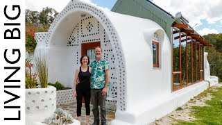 This off-the-grid home in Adelaide, Australia is something completely different! An Earthship is a radically sustainable and self-sufficient building which uses a ...