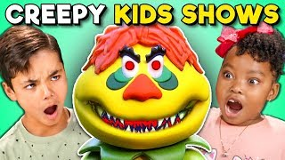 Kids React To Creepy 1970s Kids Shows (Sid & Marty Krofft)