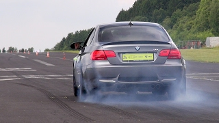 BMW M3 E92 Burning Rubber!