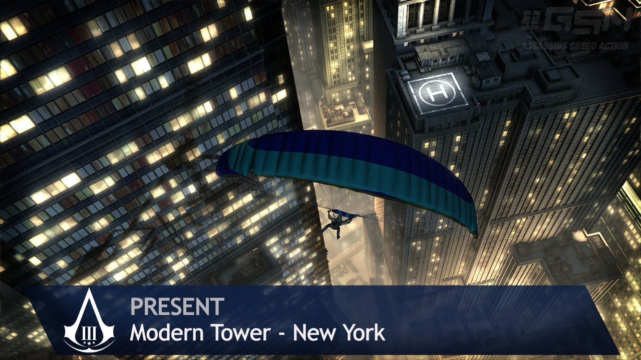 Assassin's Creed 3 - Present Day - Modern Tower [New York ...