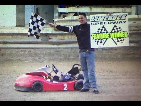 Limerock Speedway Sr. Karts 8-27-16