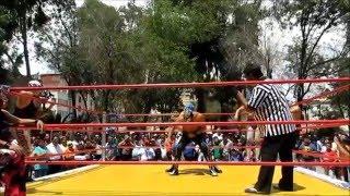 Función de Lucha Apertura Tortas Súper Astro