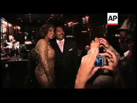 Aretha Franklin hosts star-studded birthday bash