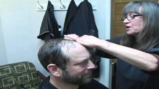 BEST-HAIR PEICE [TOUPEES] BALD MEN-DENISE JOHNSON ORIGINALS (INFOMERCIAL)