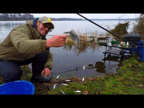 ловля по большой воде на фидер