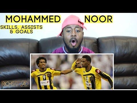 Saudi Arabian Legend Mohammed Noor Skills, Assists & Goals Reaction