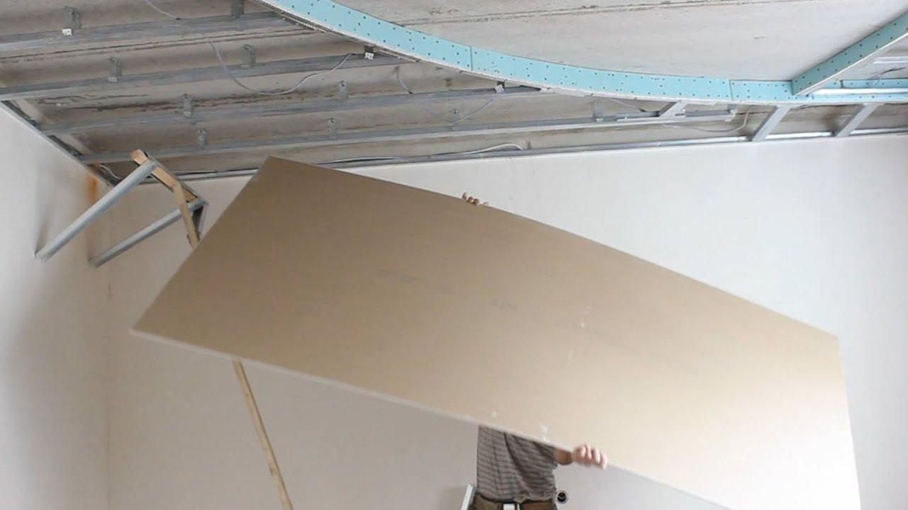 Гипсокартон монтаж своими руками потолок фото 747