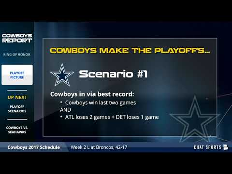 Dallas Cowboys Playoff Picture And Playoff Scenarios - How The Cowboys Can Still Make The Playoffs