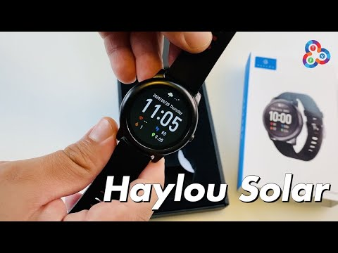 Haylou Solar LS05 Review - AMAZING Value Smartwatch!