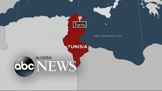 Suspected suicide bomber sets off explosion in Tunisia