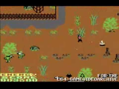 Quick Play: Rambo First Blood II for the Commodore 64 Computer