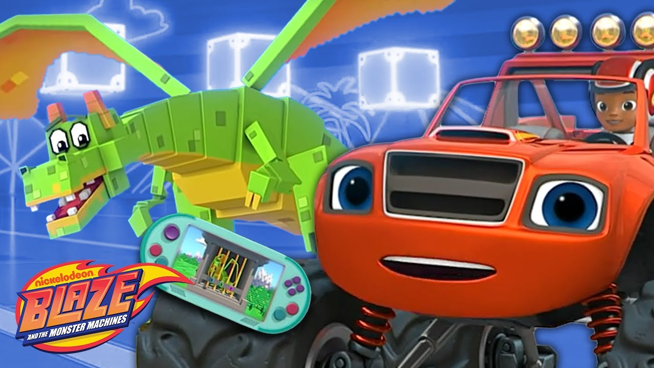Download Video Game Dragon Rescue w/ Blaze! | Blaze and the Monster Machines
