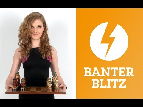 Banter Blitz with IM Anna Rudolf (Miss Strategy) – July 13, 2017