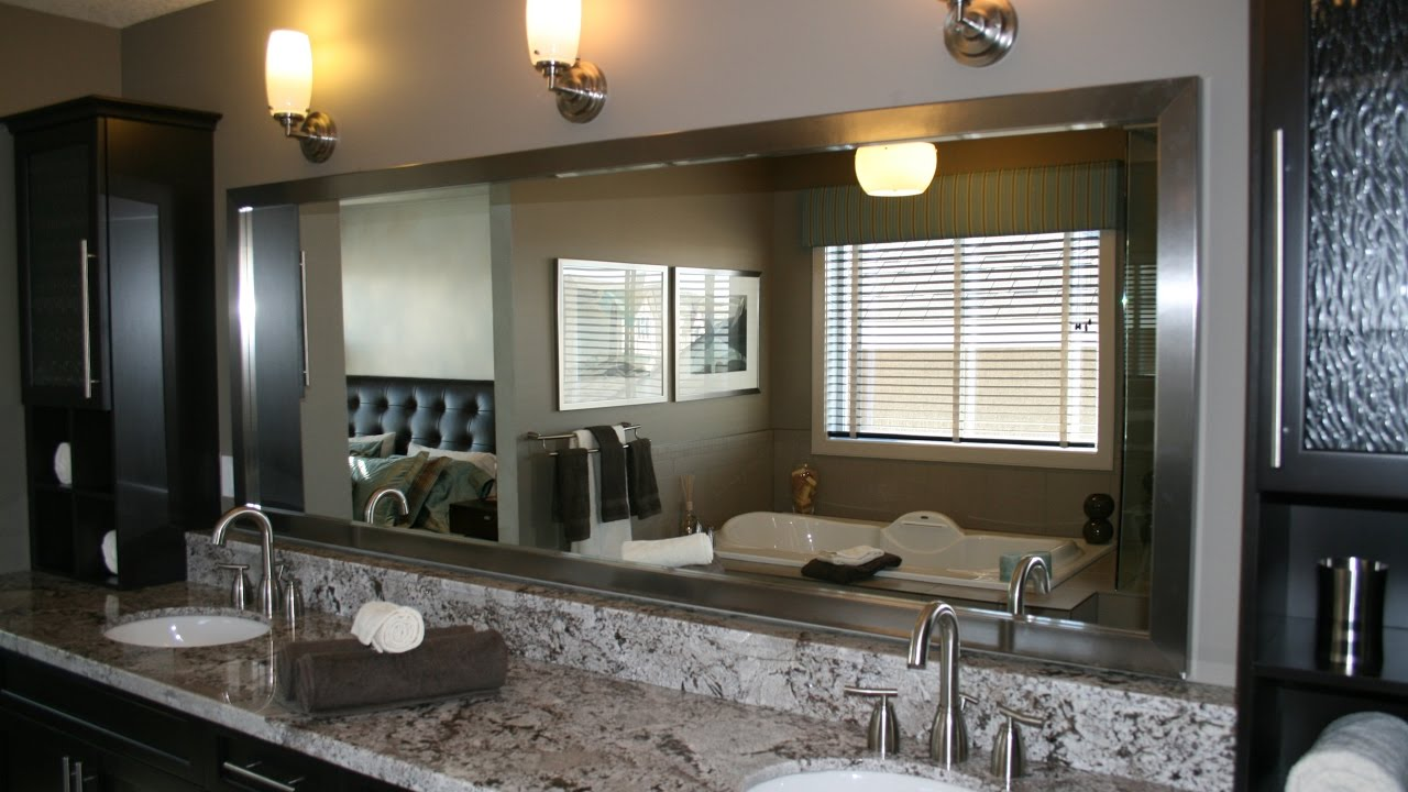 Bathroom Framed Mirrors Framed Mirrors For Bathrooms Youtube