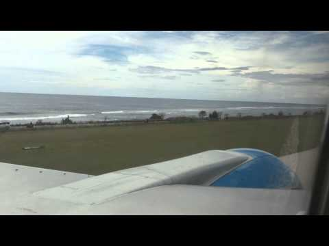 Nauru Airlines arrives in Nauru part 1