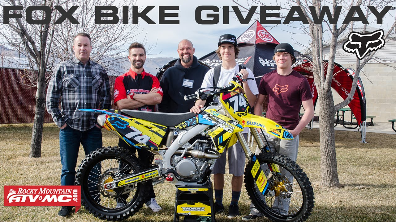Fox Racing | Rocky Mountain ATV/MC Bike Giveaway
