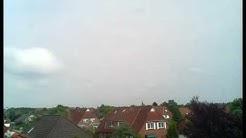 Wetter Emden Ostfriesland Zeitraffer vom 12.06.2016