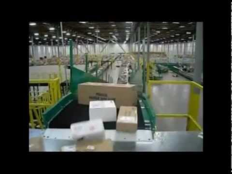 Material Handling and Packaging System_Conveyer Control for Sorting Facility