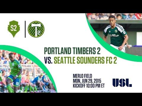 Portland Timbers 2 vs Seattle Sounders 2